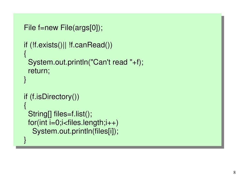File f=new File(args[0]);
